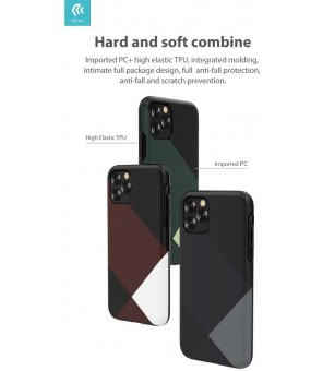 Cover Simple Style per iPhone 11 Pro Max Verde