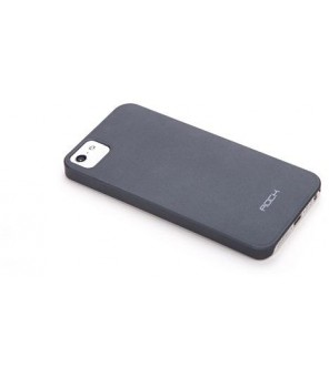 Cover Rock Naked Shell Serie iPhone 5 Grigio Scuro