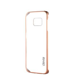 Glimmer Champagne Gold for GalaxyS6 Edge Material 0.8mm PC